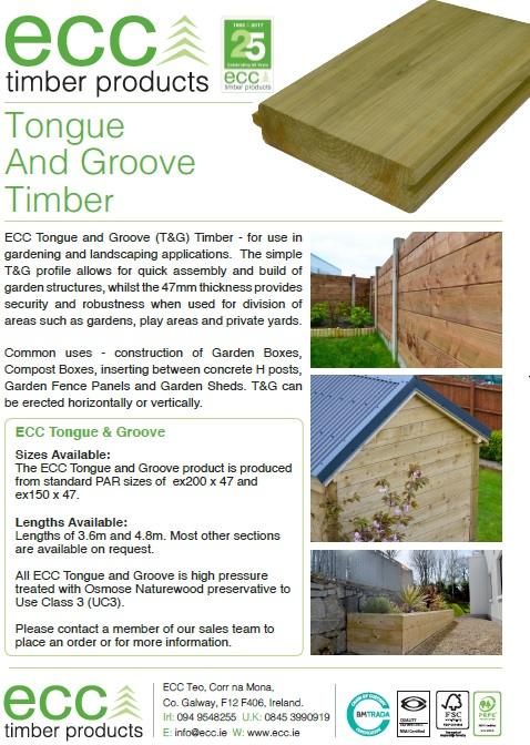 tongue groove now available in ex47 x 200 x ex47 x 150 ideal for garden sheds